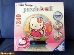 Neues Puzzle Hello Kitty, Puzzleball 240 Teile.
