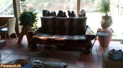 1 redwood sofa