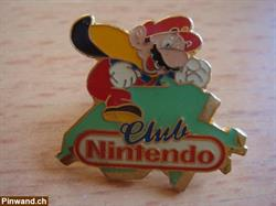 Alter Pin Nintendo Club