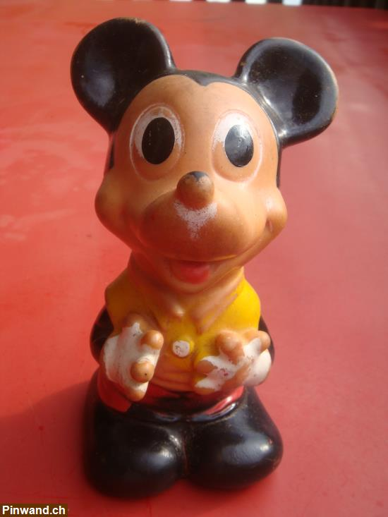 Mickey Mouse Wold Disney Productions (4 verschiedene)