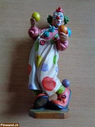 Wood Carvings (Holzschnitzereien) / Jonglierender Clown