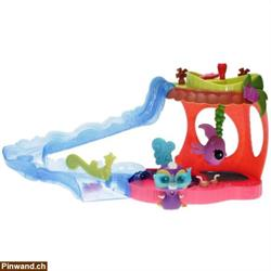 Littlest Pet Shop - Playset - 37088 Slide & Dive Lagoon