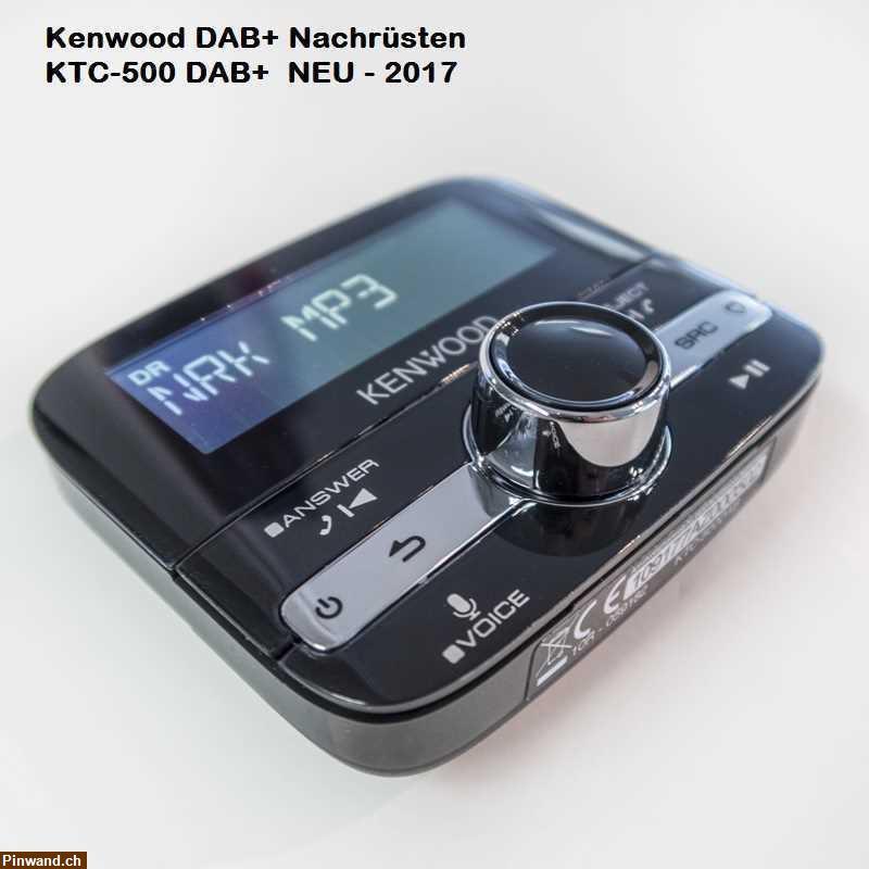 Kenwood KTC-500DAB universelle DAB Digitalradio Bluetooth ...